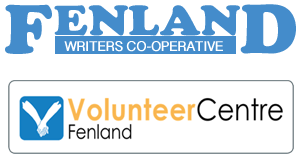 Fenland Writers Co-operative and Volunteer Centre Logos